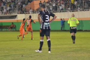 Jessé comemora o golaço no Robertão. Foto: Rafael Nunes/CFC