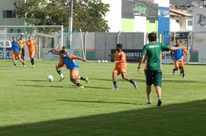 Último treino antes da partida contra o JEC aconteceu nessa terça