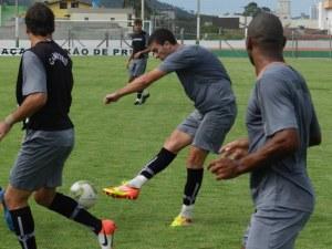 Felipe Ribeiro estará presente no jogo-treino dessa terça
