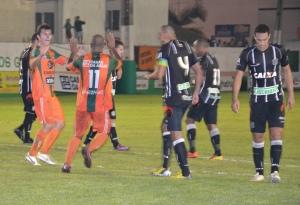 Anderson marcou o segundo gol da Cambura. Foto: Rafael Nunes/CFC