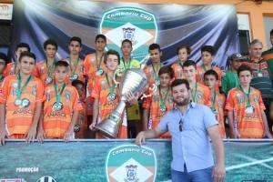 Garotada tricolor duelou com gigantes no Robertão Foto: SuperEsporte10