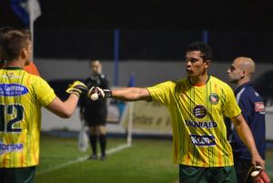 Paulo Sérgio foi expulso e deu lugar ao jovem Luiz Fernando Foto: Rafael Nunes/CFC