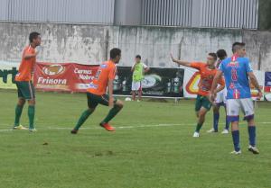 Matheus Guerreiro abriu o placar no estádio Luiz Leoni