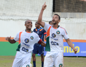 Cadu marcou o oitavo dele na competição. Foto: Rafael Nunes/CFC