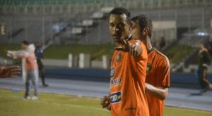 No turno, Cadu marcou o gol da Cambura no empate em 1x1 com o BEC, no SESI Foto: Rafael Nunes/CFC