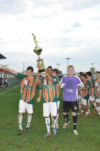Tricolor é hexa-campeão catarinense na categoria júnior