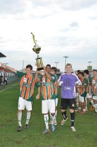 Tricolor é hexa-campeão catarinense na categoria júnior