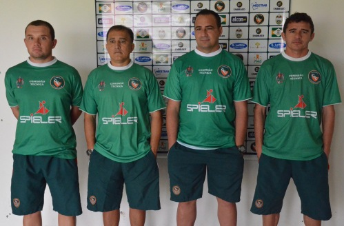 Felipe, Marcelo Margalho, Paulo Foiani e Goiano Foto: Rafael Nunes/CFC