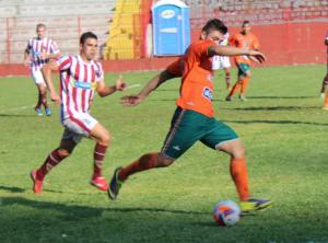 Tricolor lutou, mas acabou derrotado em Seara Foto: Lucas Coppi/CFC